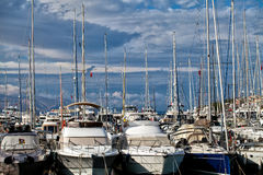 Marina in Turkey Cesme Stock Image