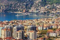 Marina in Turkey Royalty Free Stock Photo