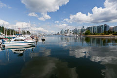 Marina in Vancouver Royalty Free Stock Photos