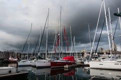 marina vancouver Fotografering för Bildbyråer