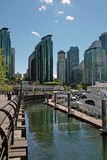 Marina, Vancouver BC Canada Stock Photography