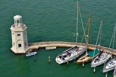 Marina in Venice Royalty Free Stock Photography