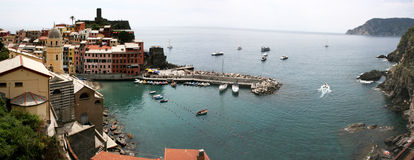 Marina of Vernazza Stock Photos