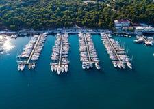 Marina Verudela Croatia images stock