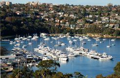Marina View royalty free stock images