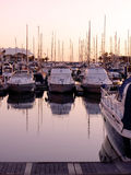 Marina at Vilamoura Stock Image