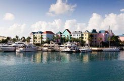 Marina Village at Paradise Island Stock Photo