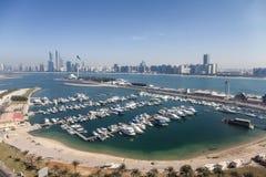 Marina w Abu Dhabi, UAE Obrazy Royalty Free