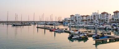 Marina w Agadir, Maroko Zdjęcie Royalty Free