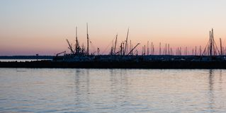 Marina w Bellingham, WA Zdjęcie Stock