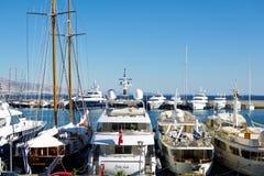 Marina w Grecja Obrazy Royalty Free