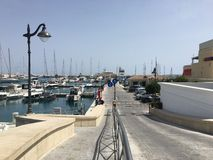 Marina w Limassol fotografia stock