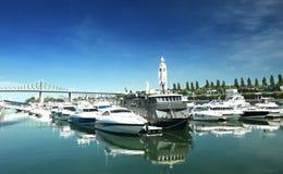 Marina w Montreal Zdjęcia Stock