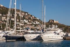 Marina w różach, Hiszpania Zdjęcie Royalty Free