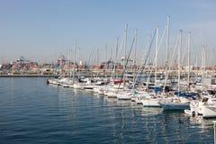Marina w Walencja, Hiszpania Fotografia Royalty Free