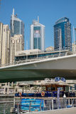 Marina walk district in Dubai, UAE Stock Photography