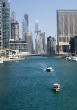 Marina Walk in Dubai Stock Photos