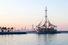 Marina Waves Pavilion in Kuwait City Royalty Free Stock Photography