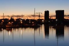 marina westhaven zdjęcie royalty free