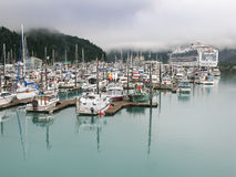 Marina Whittier Alaska Stock Images