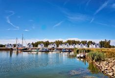 Free Marina With Holiday Apartments In Peenemünde. Germany Royalty Free Stock Photography - 161403207