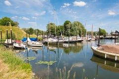 Marina of Woudrichem, Brabant, Netherlands Stock Image