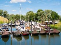 Marina of Woudrichem, Brabant, Netherlands Royalty Free Stock Image