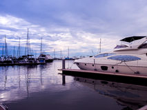 Marina Yacht Club Pattaya Stock Photo