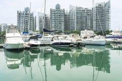 Marina Yacht Stock Photo