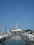 Marina with yachts. Italy. Royalty Free Stock Photography