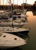 Marina yachts Royalty Free Stock Photo