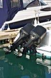 marina zakotwiczający jachty obrazy stock