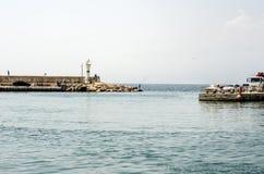 Marina zatoka Antalya Turcja zdjęcie royalty free