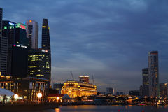 Marina Zatoka, Singapur Obraz Stock