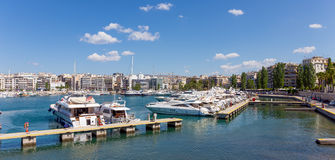 Marina Zeas, Piraeus, Greece Royalty Free Stock Image