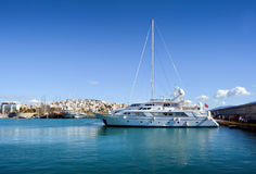 Marina Zeas Piraeus Greece Royalty Free Stock Photography