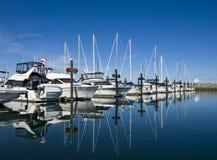 marina1 sailboar Стоковое Изображение