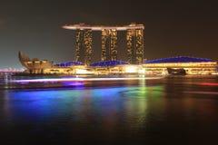 Marinabay沙子,新加坡 免版税库存照片