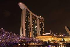Marinabay沙子,新加坡 免版税库存图片