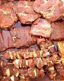 Marinade da carne Imagem de Stock Royalty Free