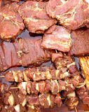 Marinade de viande Image libre de droits