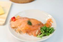 Marinade des saumons photos libres de droits
