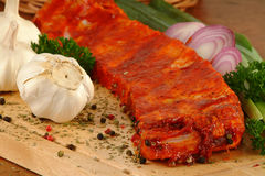 Marinade ribs Royalty Free Stock Photo