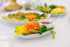 Marinade Vegetables Royalty Free Stock Image