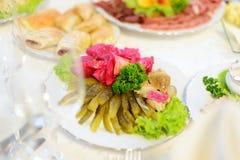 Marinade Vegetables Stock Photos