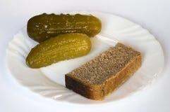 Marinaded cucumber Stock Photo