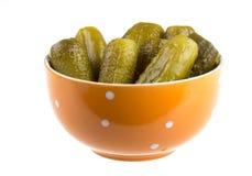 Marinaded cucumber Royalty Free Stock Image