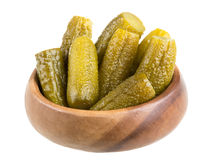 Marinaded cucumber Royalty Free Stock Photography