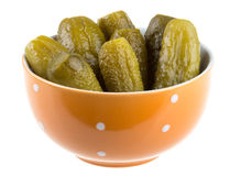 Marinaded cucumber Royalty Free Stock Images