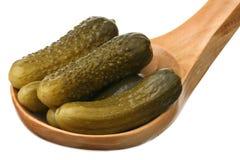 Marinaded cucumbers Stock Photo